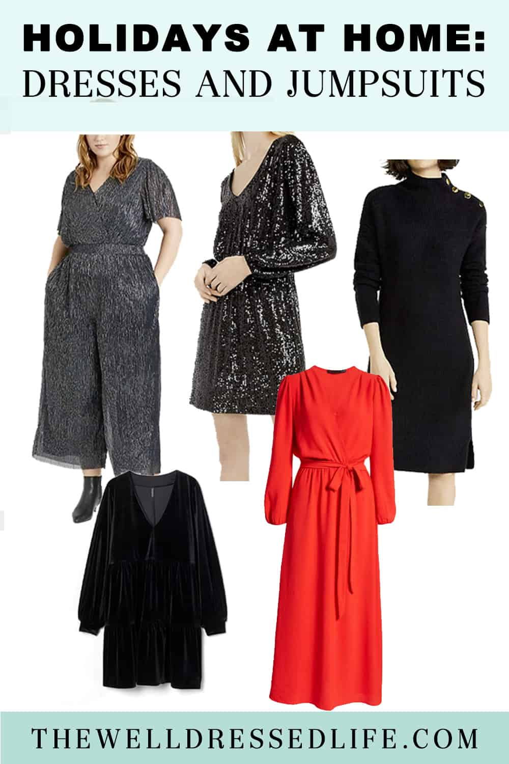 Holidays at Home: Dresses and Jumpsuits