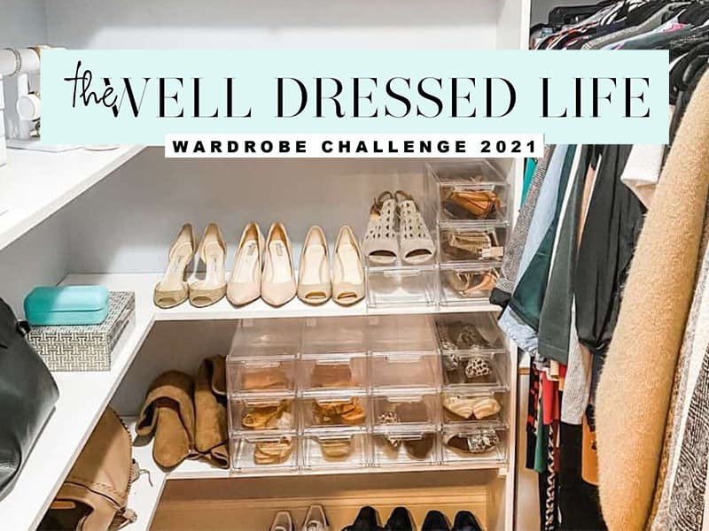 The Well Dressed Life Wardrobe Challenge
