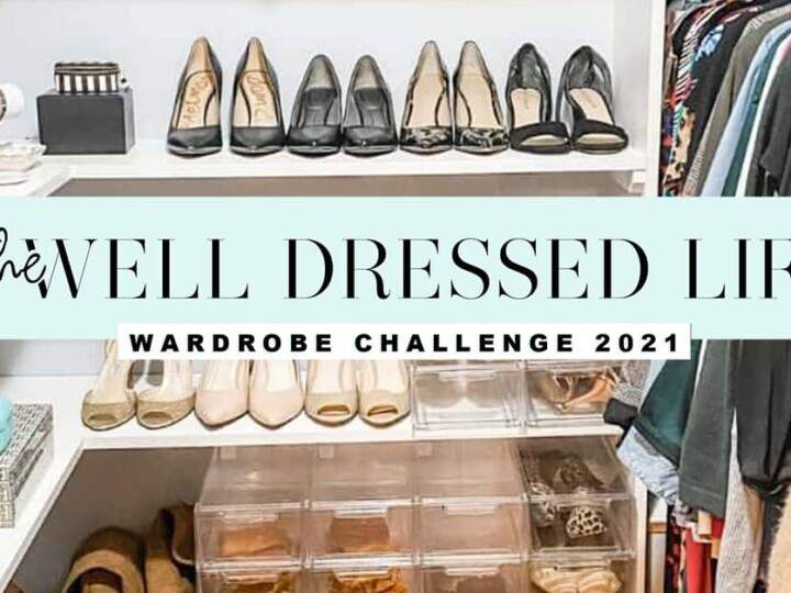 The Well Dressed Life Wardrobe Challenge Fall 2021