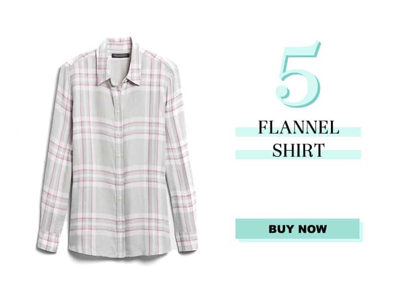 Banana Republic Flannel Shirt