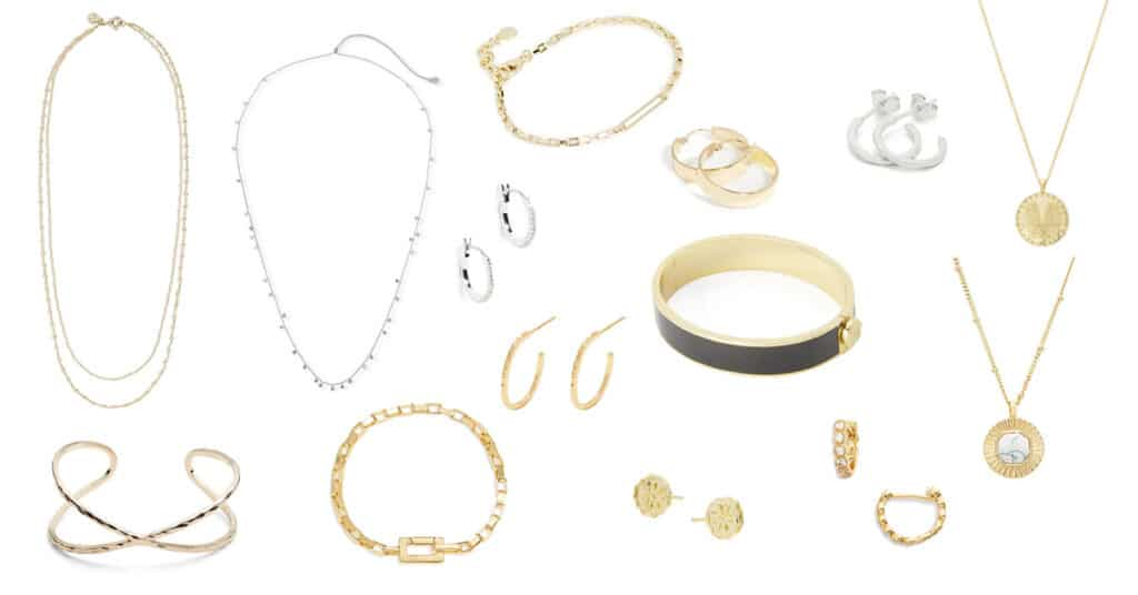 Bracelets, Earrings, and Necklaces from Gorjana