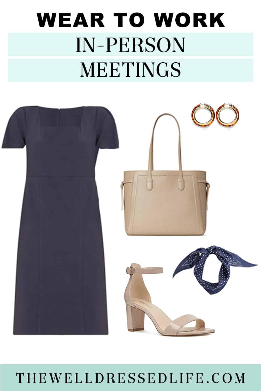 A Dress to Rebuild Your Work Wardrobe
