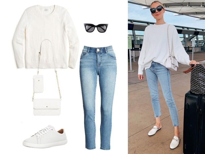 Pinterest in Real Life: Travel Outfit