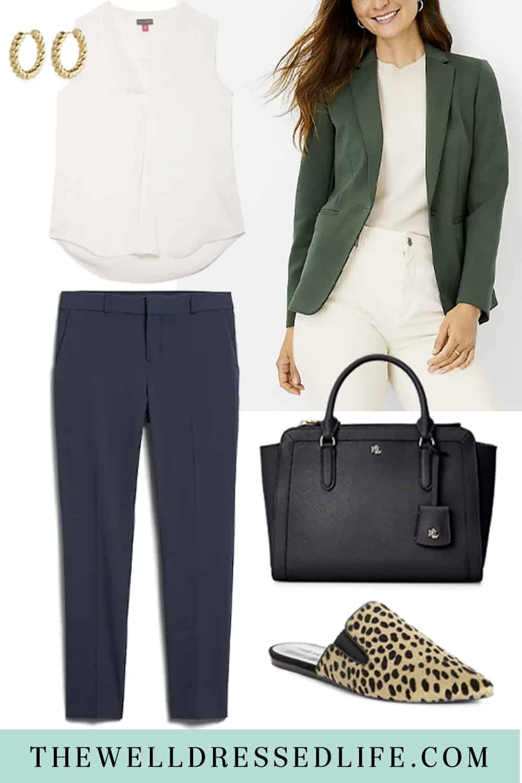 How to Wear The Ann Taylor Hunter Blazer