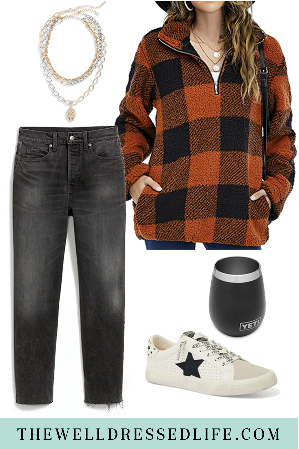 A Halloween Night Outfit